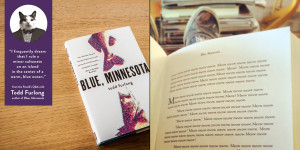 A look at Blue, Minnesota--a made-up book release from Powell's Books.