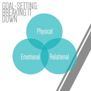 Setting Goals for business: physical, emotional, relational