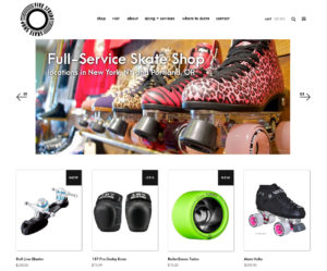 website design e-commerce portland